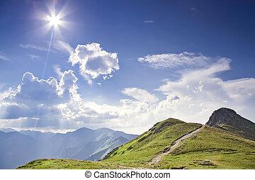 Sunny Tatras