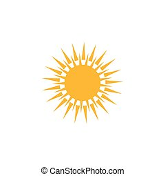 sunny weather icon. Logo element illustration. sunny weather symbol design. colored collection. sunny weather concept. Can be used in web app