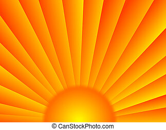 Sunrays - A very colorful background with these sun rays