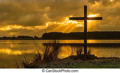 Sunrays Cross