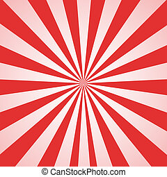 Sunrays Sunflare Texture Background in red and white