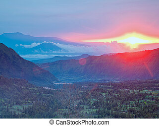 Sunrise at Bromo