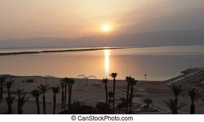 Sunrise at Dead Sea