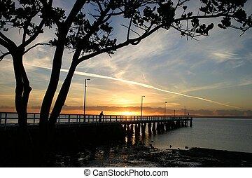 Sunrise at Jetty