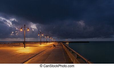 Sunrise at Key West