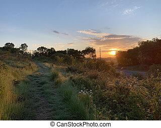 Sunrise at Seven Islands State Birding Park