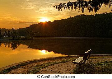 Sunrise at the Park