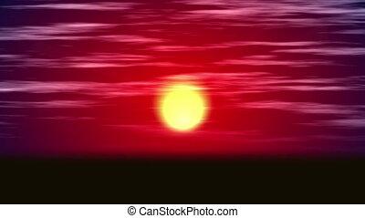 sunrise background abstract 4k