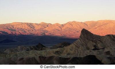 Sunrise Badlands Amargosa Mountain