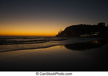 Sunrise, Beach