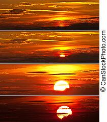 Sunrise Collage