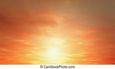 sunrise - render of sunrise