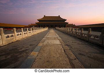 Sunrise Forbidden City Palace Heavenly Purity