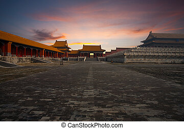 Sunrise Gate Forbidden City Supreme Harmony