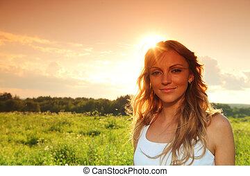 sunrise girl