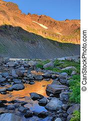 Sunrise, Goat Rocks Wilderness, Washington state - Sunrise ...