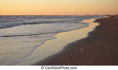 Sunrise Gulf of Mexico Beach South Padre Island Beach - Surf...
