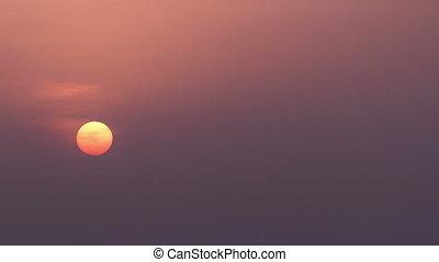 Sunrise in Dubai, UAE  timelapse
