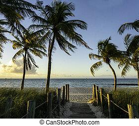 Sunrise in Key West in 2021