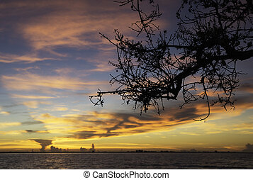 Sunrise in Sanibel Island, Flordia