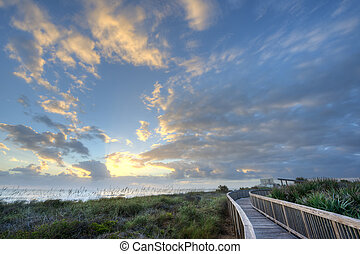Sunrise in Satellite Beach