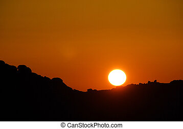 sunrise in the mountains 12