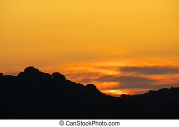 sunrise in the mountains 17