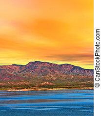 Sunrise Lake Arizona