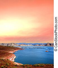 Sunrise Lake Powell Arizona