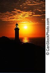 Sunrise Light House.