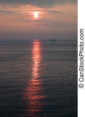 Sunrise of the Japan Sea