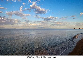 Sunrise on the Aegean Sea