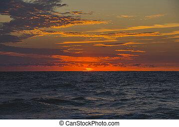 Sunrise on the Black Sea