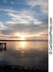 Sunrise on the Chesapeake