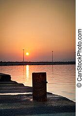 Sunrise on Zakynthos Beach