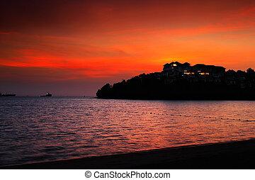 Sunrise over Phuket Thailand