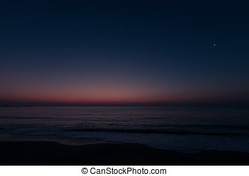 Sunrise Over Sea Timelapse