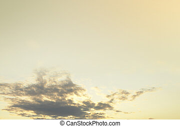 Sunrise sky background