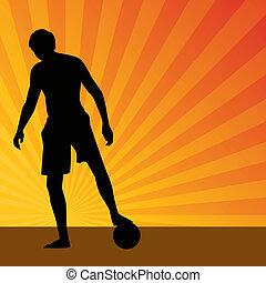 Sunrise Soccer Player