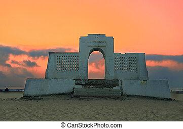 Sunrise - A beautiful sunrise at a beach in Chennai India
