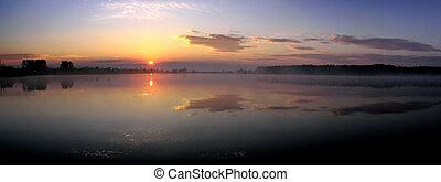 Sunrise - sunrise  Panoramic