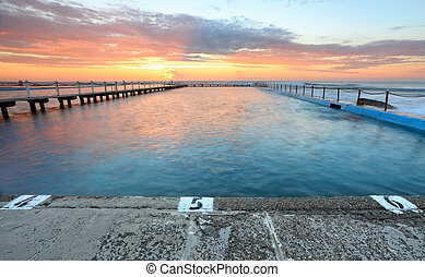 Sunrise Swim North Narrabeen