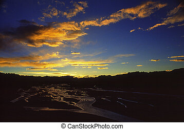 Sunrise - The view in Tibet