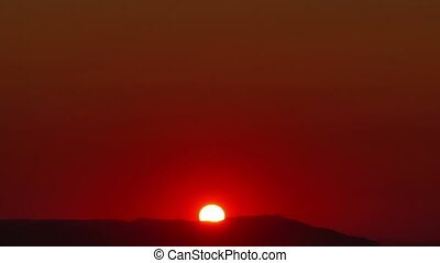 sunrise time lapse 4k