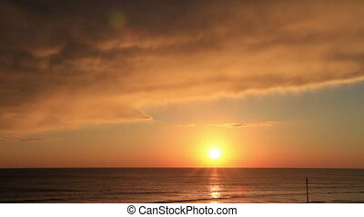 Sunrise Time Lapse Daytona Beach