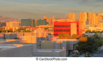 Sunrise Time Lapse Las Vegas Cropped