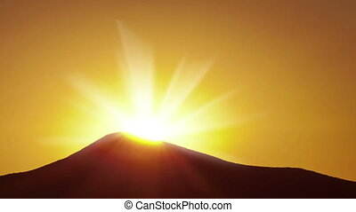 Sunrise, Time Lapse