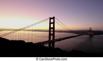 Sunrise Timelapse at Golden Gate