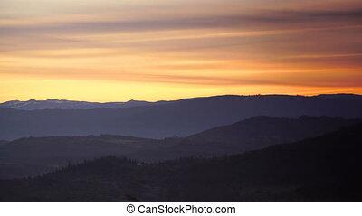 Sunrise View Prescott Park Mt McLoughlin Cascade Mountain...