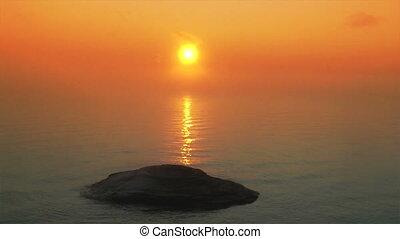 Sunriset at Yellowstone Lake